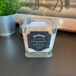 Recycled Jack Daniels Single Barrel Candle