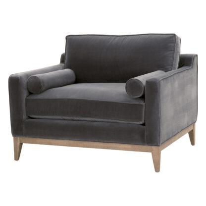 Parker Velvet Chair- Dove