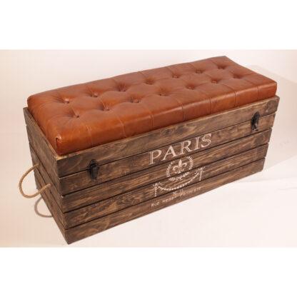 Paris Storage Bench