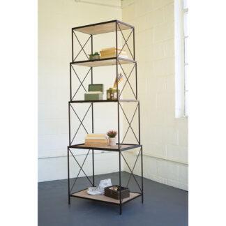 Stackable 4 Tier Shelf Unit