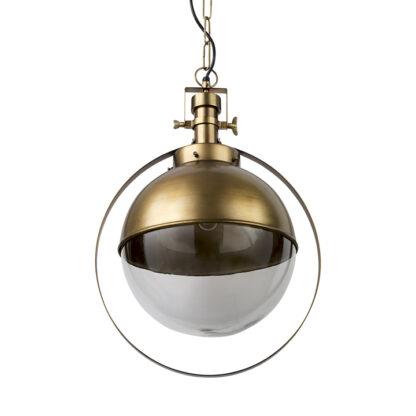 Leighton I Gold Spherical Pendant Light