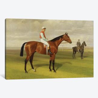 Isinglass, Winner of 1893 Derby- Framed Canvas Giclee