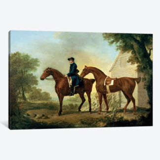 Mr. Crewe's Hunters- Framed Canvas Giclee