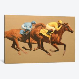 Start- Framed Canvas Giclee
