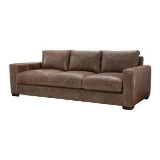 Dawkins Leather Sofa w Chaise
