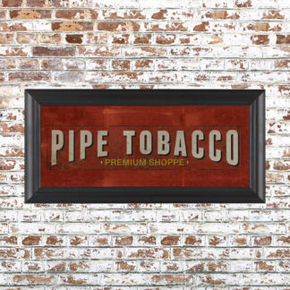 Pipe Tobacco Framed Print Small