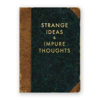 Strange Ideas and Impure Thoughts Journal- Medium