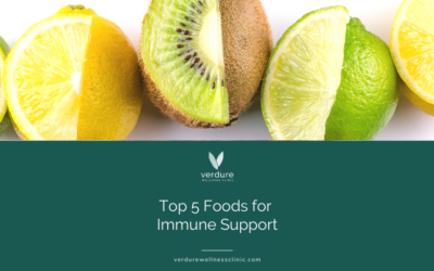Top 5 Foods for Immune Support