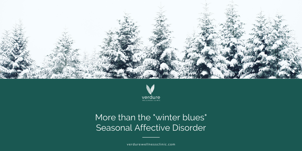 """It's not just the """"winter blues"""": Seasonal Affective Disorder"""