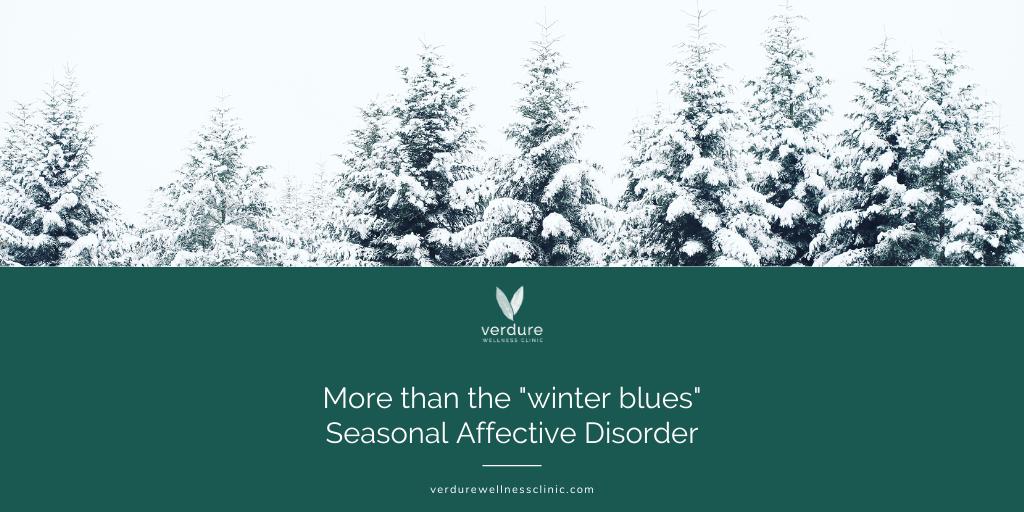 seasonal affective disorder winter blues depression