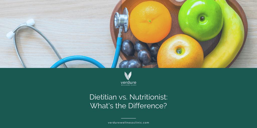 nutritionist vs dietitian