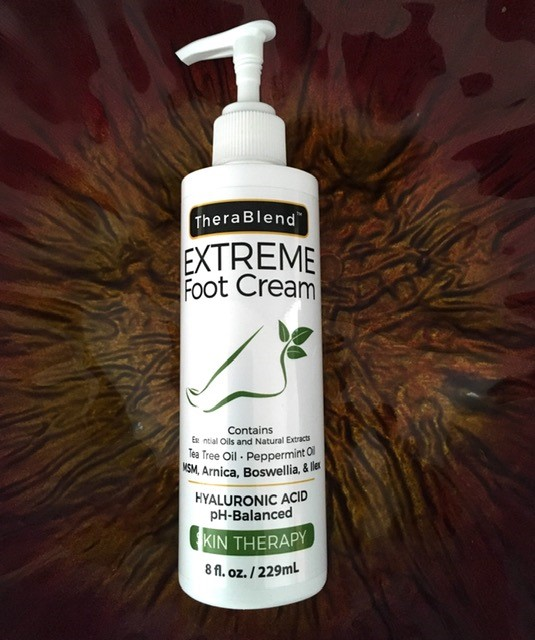 healing foot massage cream