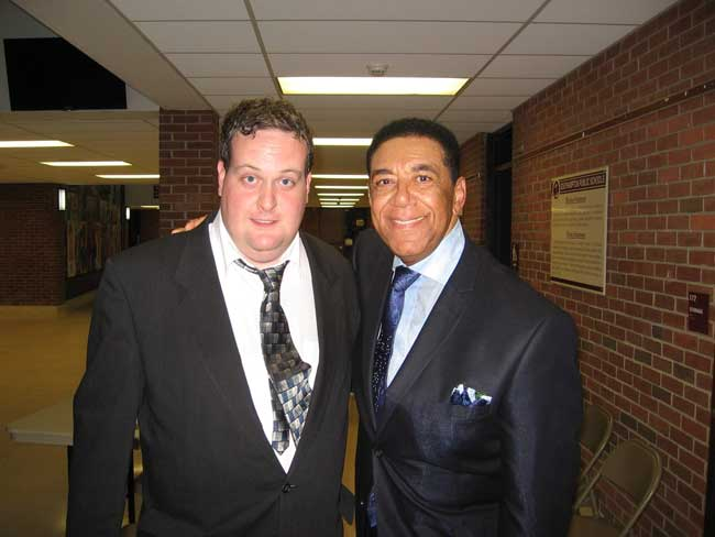 Terry-Johnson-original-lead-singer-of-the-Flamingos with Kevin Boles Oldies Fan Radio Show Host
