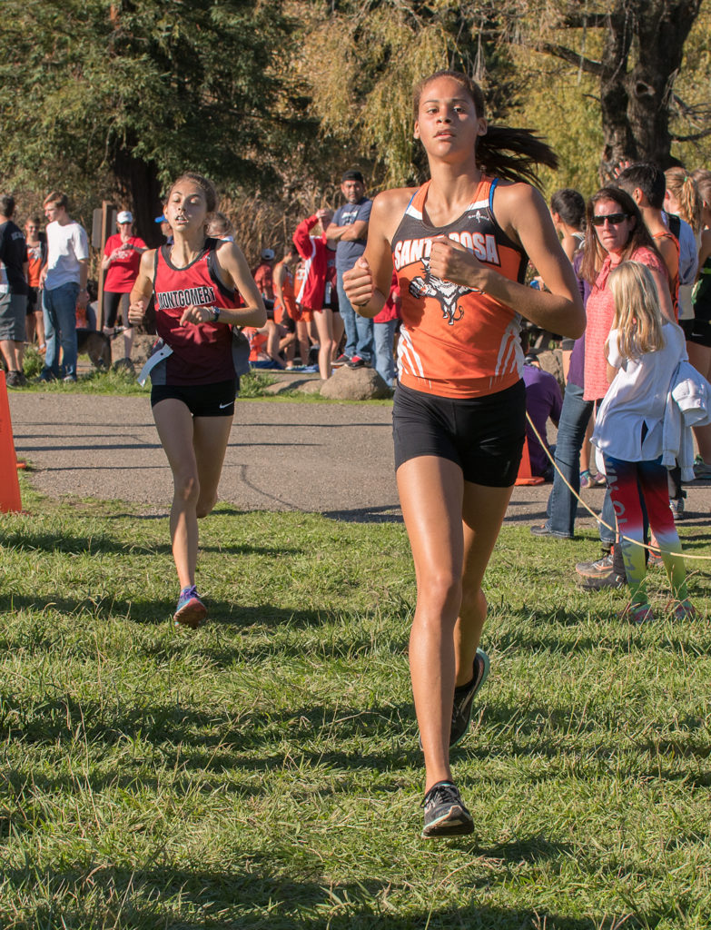5th Kirsten Carter in 19:43 6th Jasmine Becker in19:44