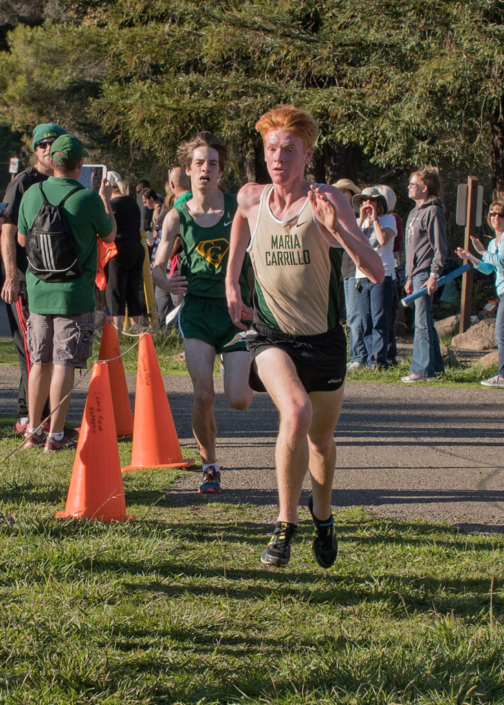 9th Zach Lindeman in 16:25 10th Reed Canavan in 16:26