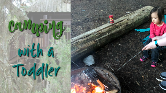 tips for camping with a toddler