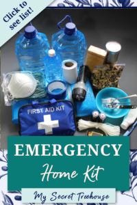 emergency kit pin, emergency home kit, home emergency kit, how to build emergency kit