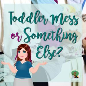 Toddler Mess or Something Else?