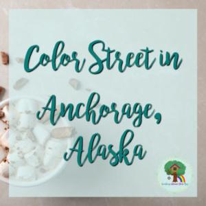 Color Street in Anchorage, Alaska