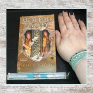 book & bracelet & manicure