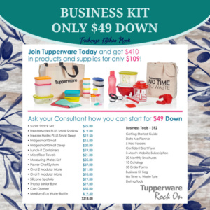 tupperware business join kit, join tupperware, sign up for tupperware, become a tupperware lady, tupperware alaska, join, income
