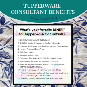 tupperware consultant benefits, join tupperware, sign up for tupperware, become a tupperware lady, tupperware alaska,benefits of joining tupperware, tupperware benefits,