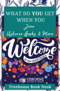why join usborne books & more pin, why join usborne, how to join usborne books & more