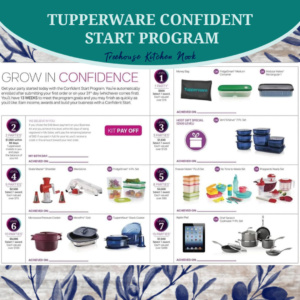 tupperware confident start program, join tupperware, sign up for tupperware, become a tupperware lady, tupperware alaska, join, income