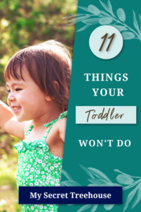 11 things your toddler won't do pin