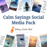 calm sayings, calm graphics