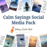 calm sayings social media graphics, calm sayings graphics, ready to post calm sayings graphics, social media graphics, social media, done for you calm sayings graphics, done for you calm sayings social media graphics