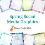 spring social media graphics, spring graphics, ready to post spring graphics, social media graphics, social media, done for you spring graphics, done for you spring social media graphics