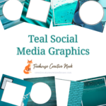 teal social media graphics, teal graphics, ready to post teal graphics, social media graphics, social media, done for you teal graphics, done for you teal social media graphics