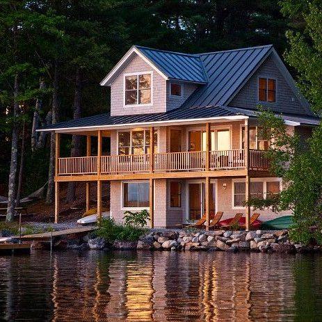 93cdb01bb0c5670ef291a3b2c064ad3a--small-lake-houses-rustic-lake-houses