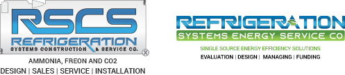 Refrigeration Systems Energy Services Company Logo