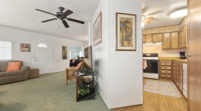 2300 Cienaga #22 15 Living Room and Kitchen