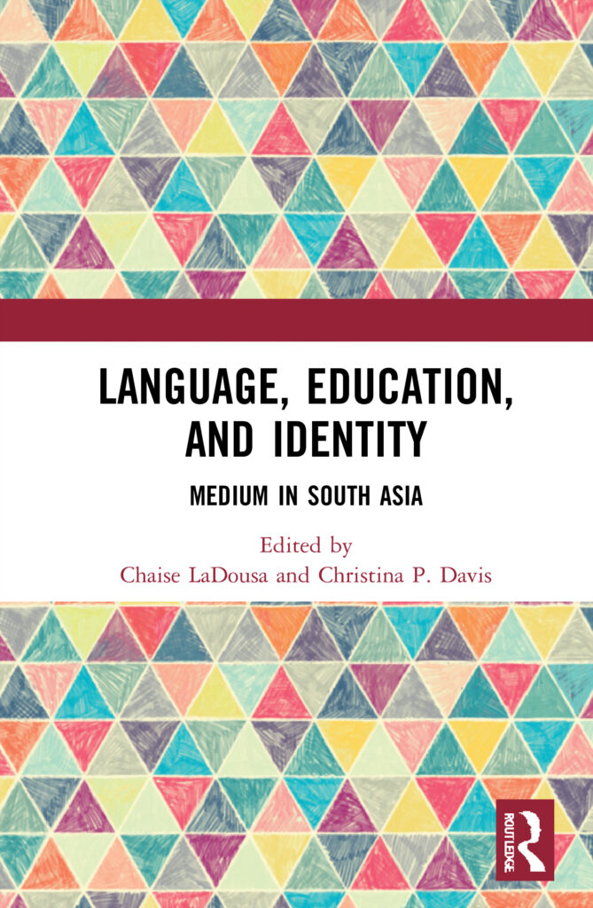 Cover for book Language Education and Identity Medium in South Asia