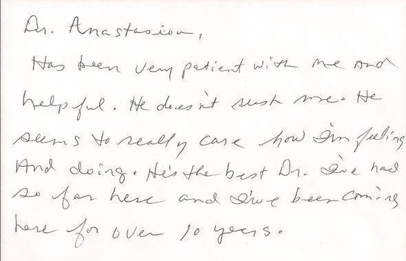 Patient Review of Patient J.M.