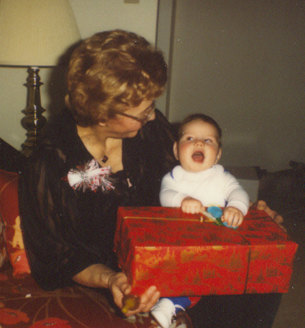 Nadine Thompson and her grandson Jared.