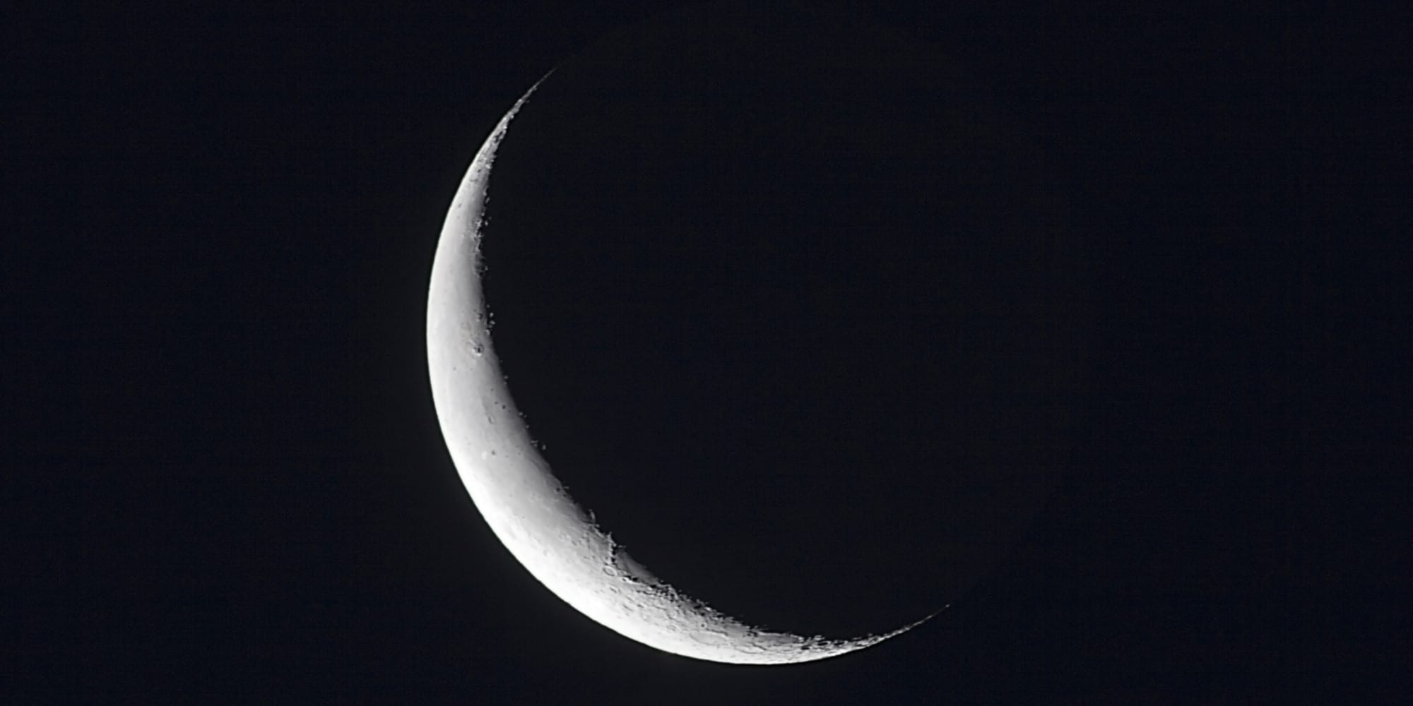 Embracing the new moon