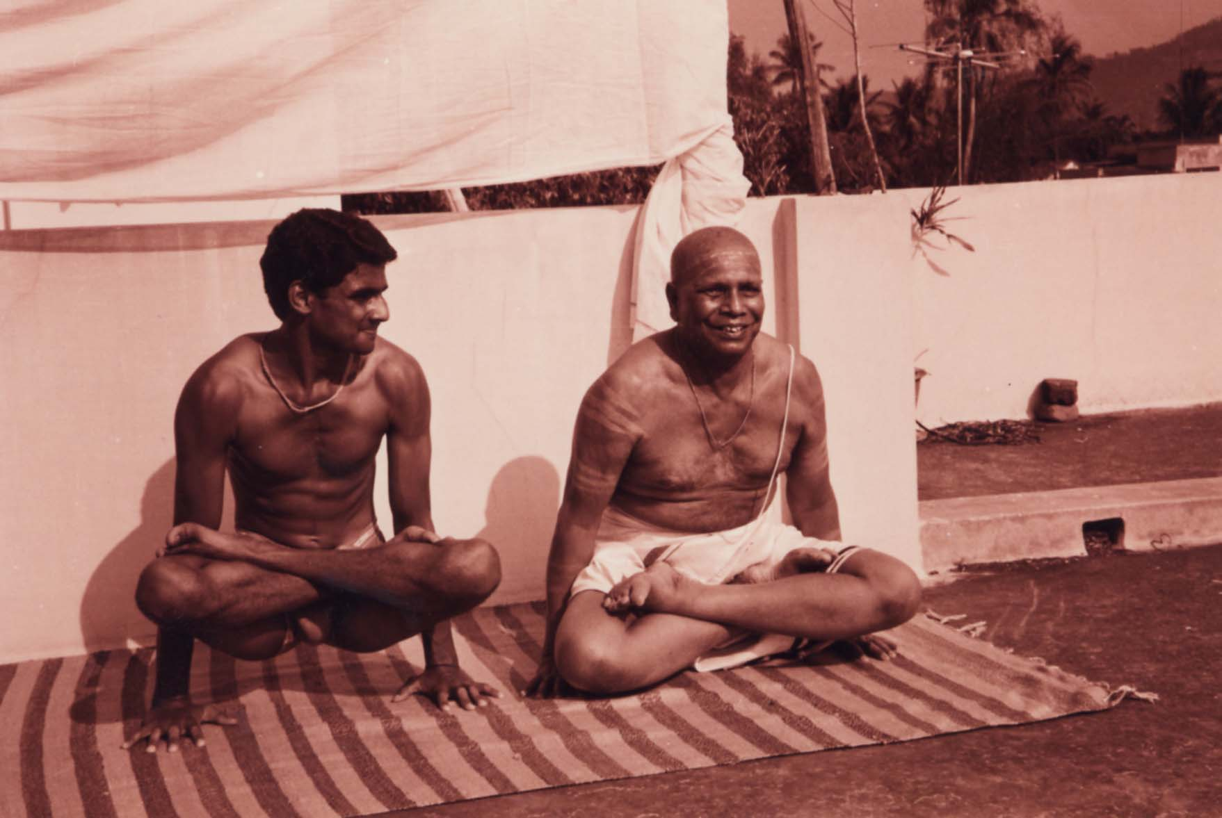 An interview with Sri K. Pattabhi Jois by Sandra Anderson