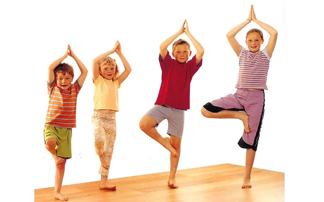 Yoga holidays for children and families