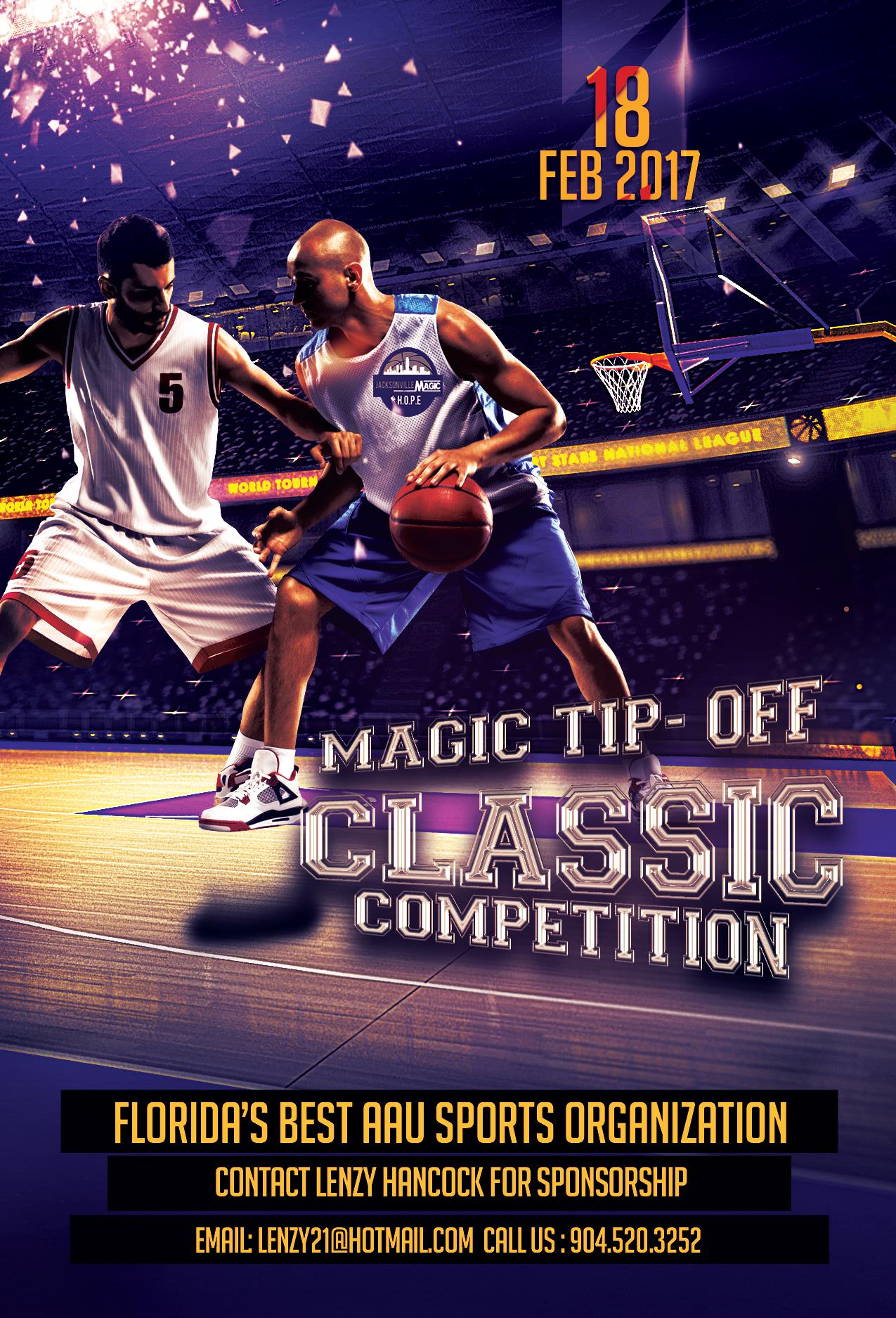 Custom Event Flyer-AAU Sports Xpress Grassroots