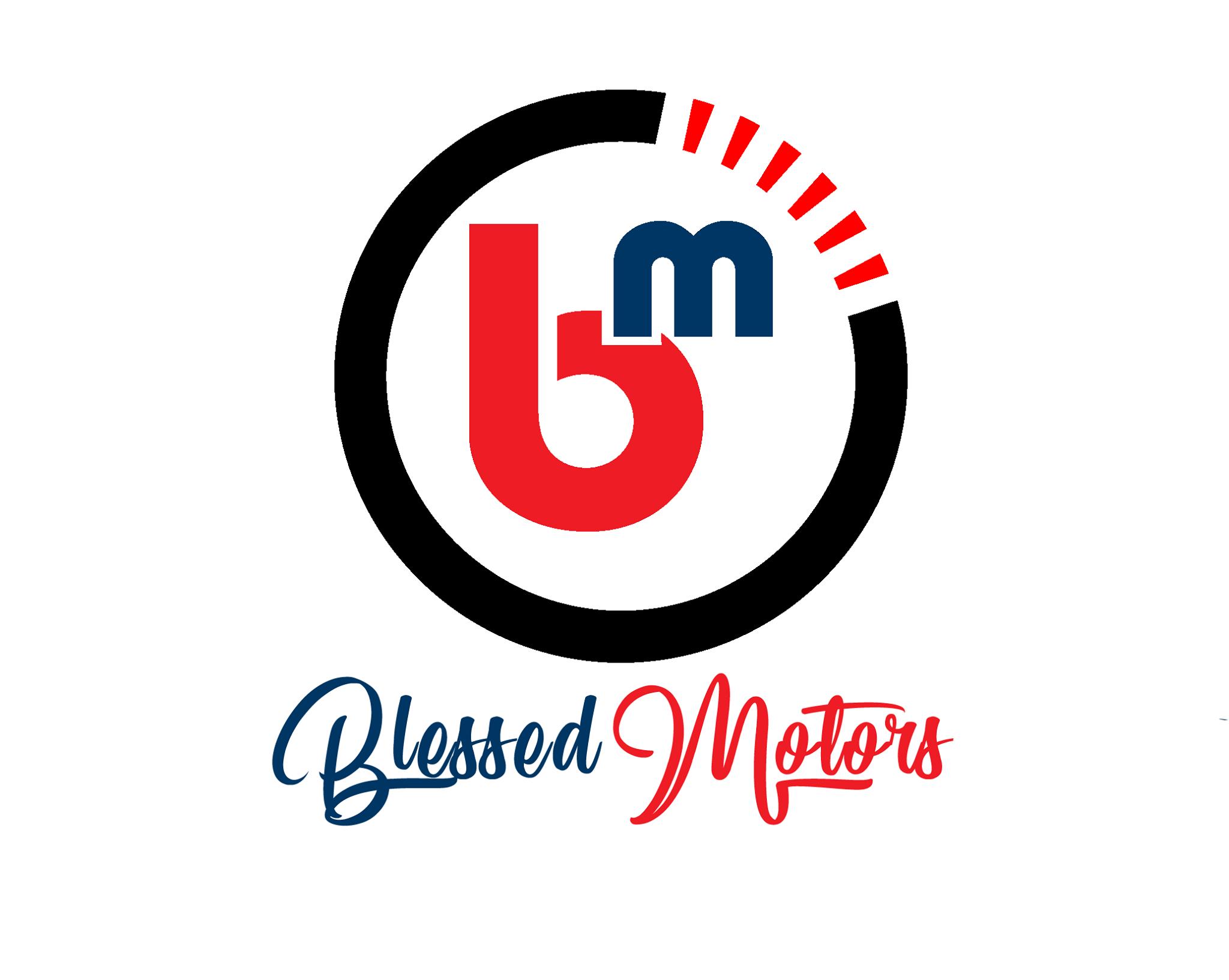 Custom Logo Design-Blessed Motors