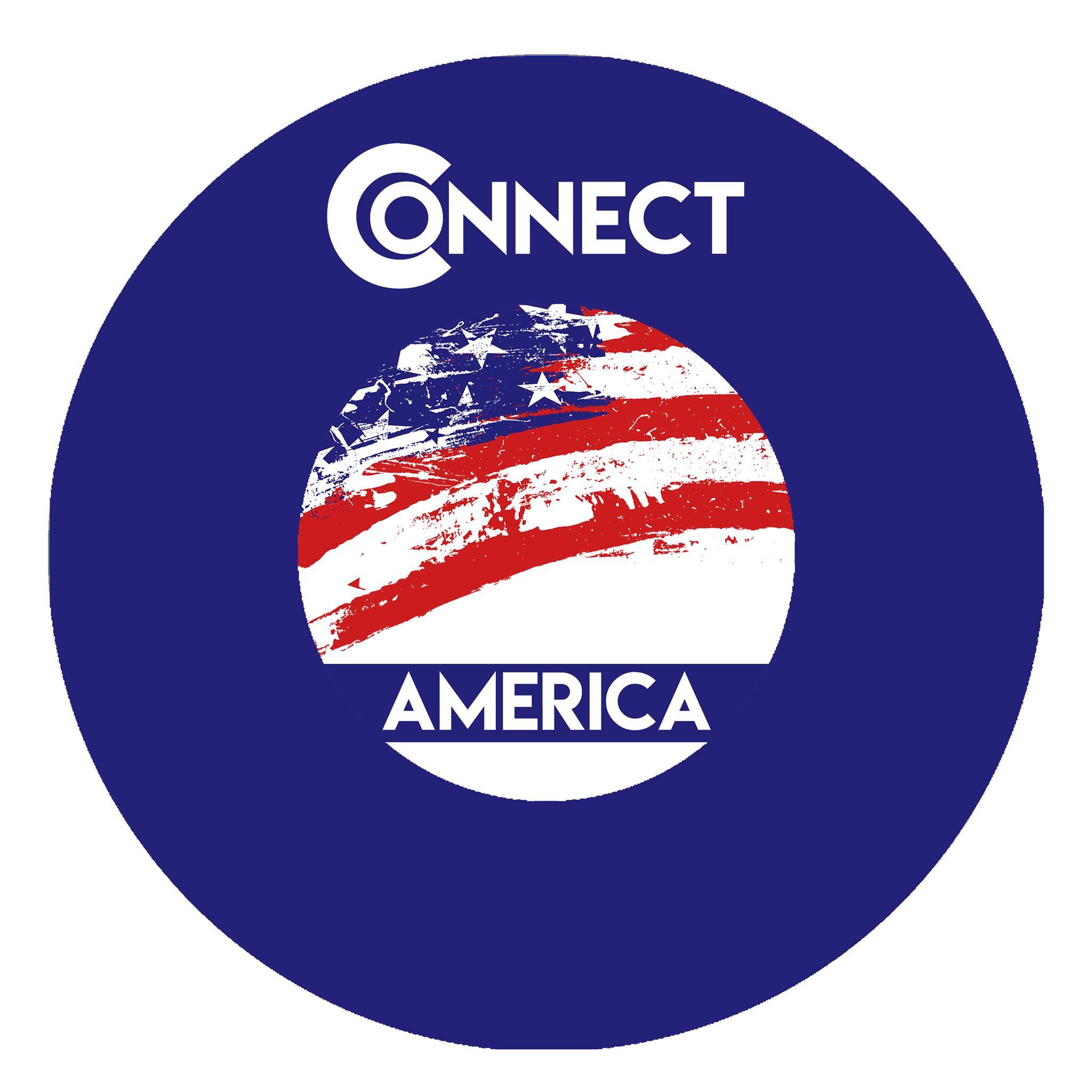Custom Logo Design-Political Connect America