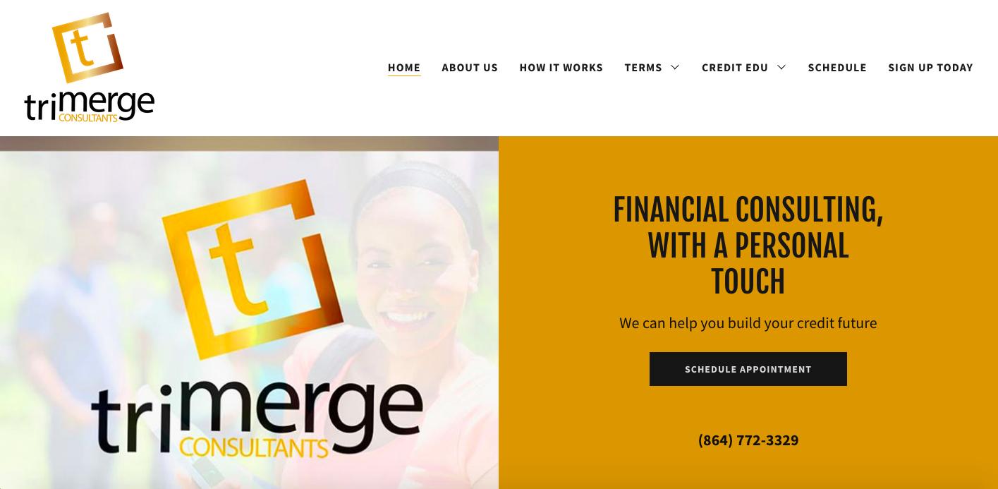 Custom Web Design- Tri-Merge Consultants
