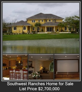 Sunshine Ranches – Southwest Ranches Featured House of The Day