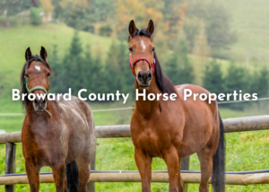 Broward County Horse Properties