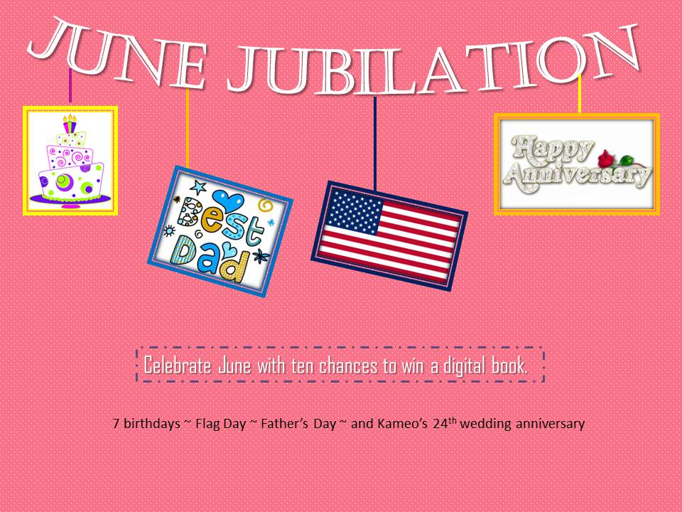 The Monson Month of Jubilation Giveaways