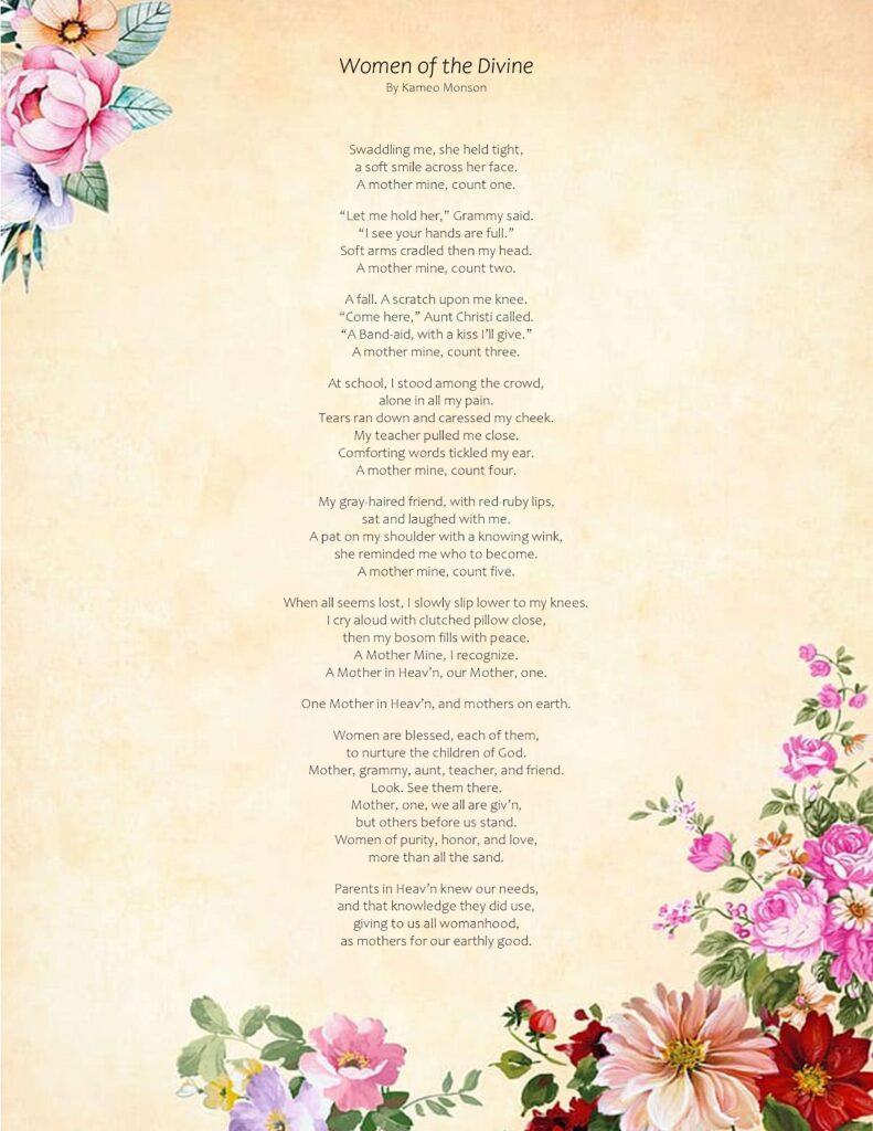Mother's Day Poem Free Printable